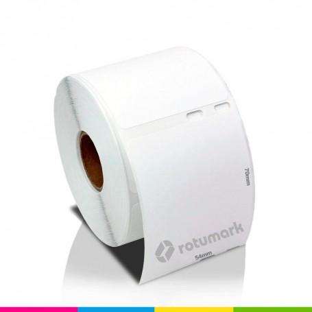 Rollo 54mmx70mm 30324 de etiquetas DYMO compatibles