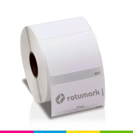 Rollo 57mmx32mm 30334 De etiquetas DYMO compatibles