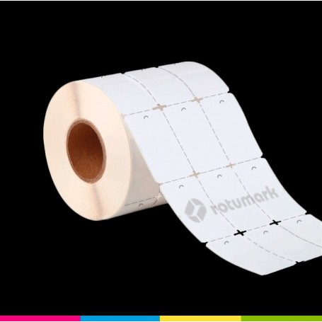 Cartón textil 35mm X 65mm   Etiqueta Colgante   Etiquetas de transferencia